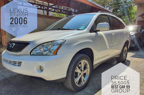 Lexus RX 400h 2006 Half full Price : 35500$